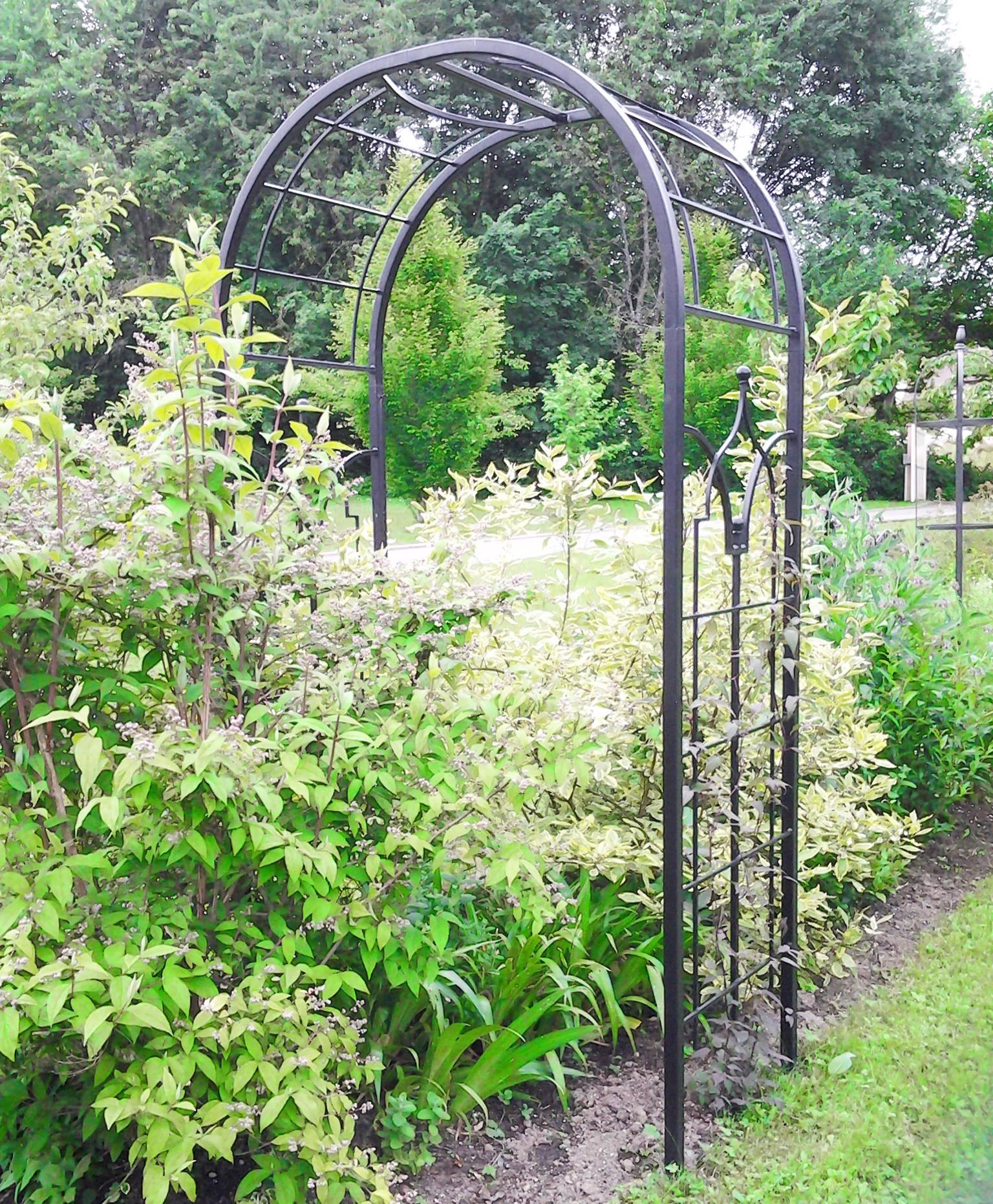 Arche Princess Arche À Fleurs Rosiers Tuteur Plantes De ... dedans Arche De Jardin En Fer