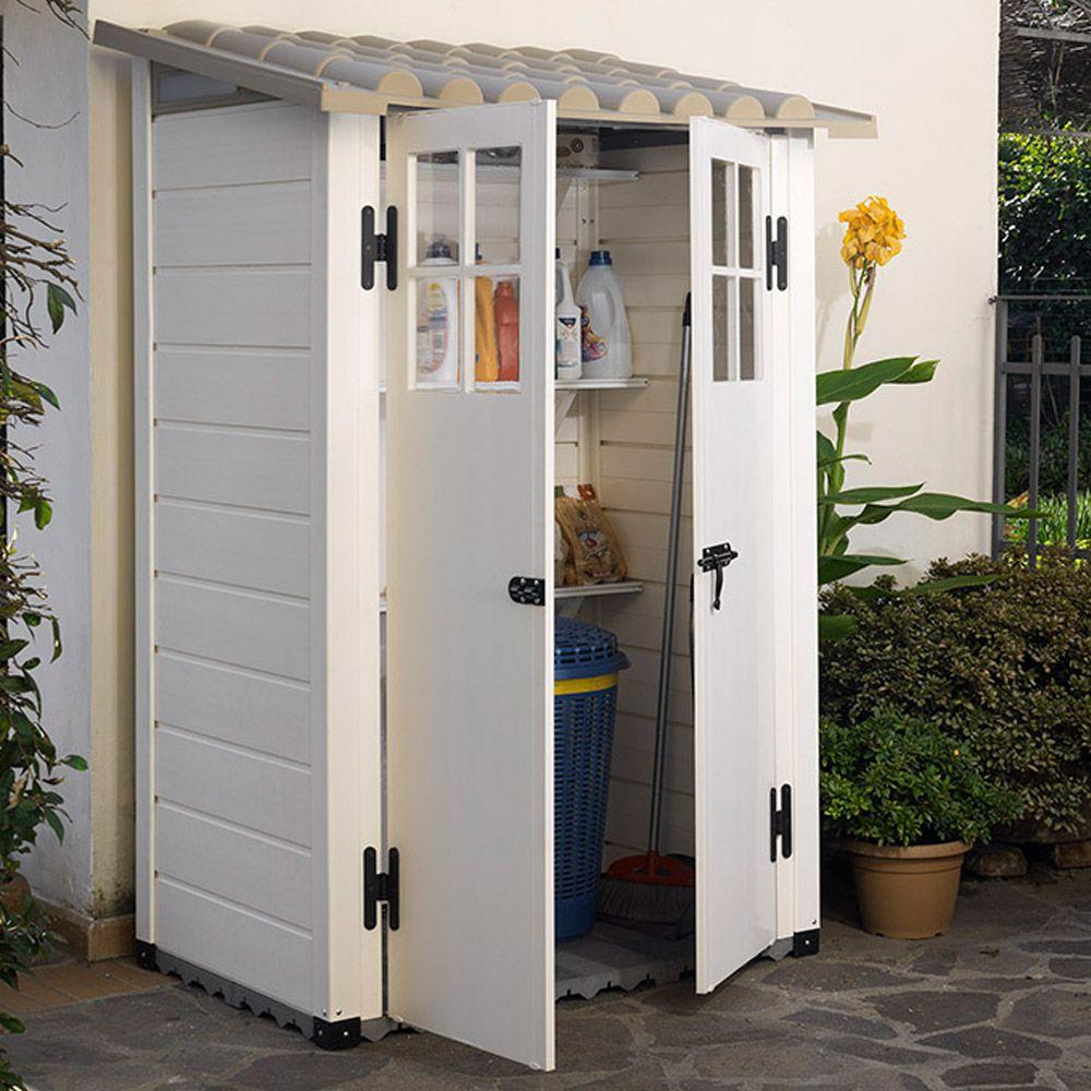 Armoire En Plastique Pour Jardin | Bright Shadow Online dedans Cabane De Jardin Pvc