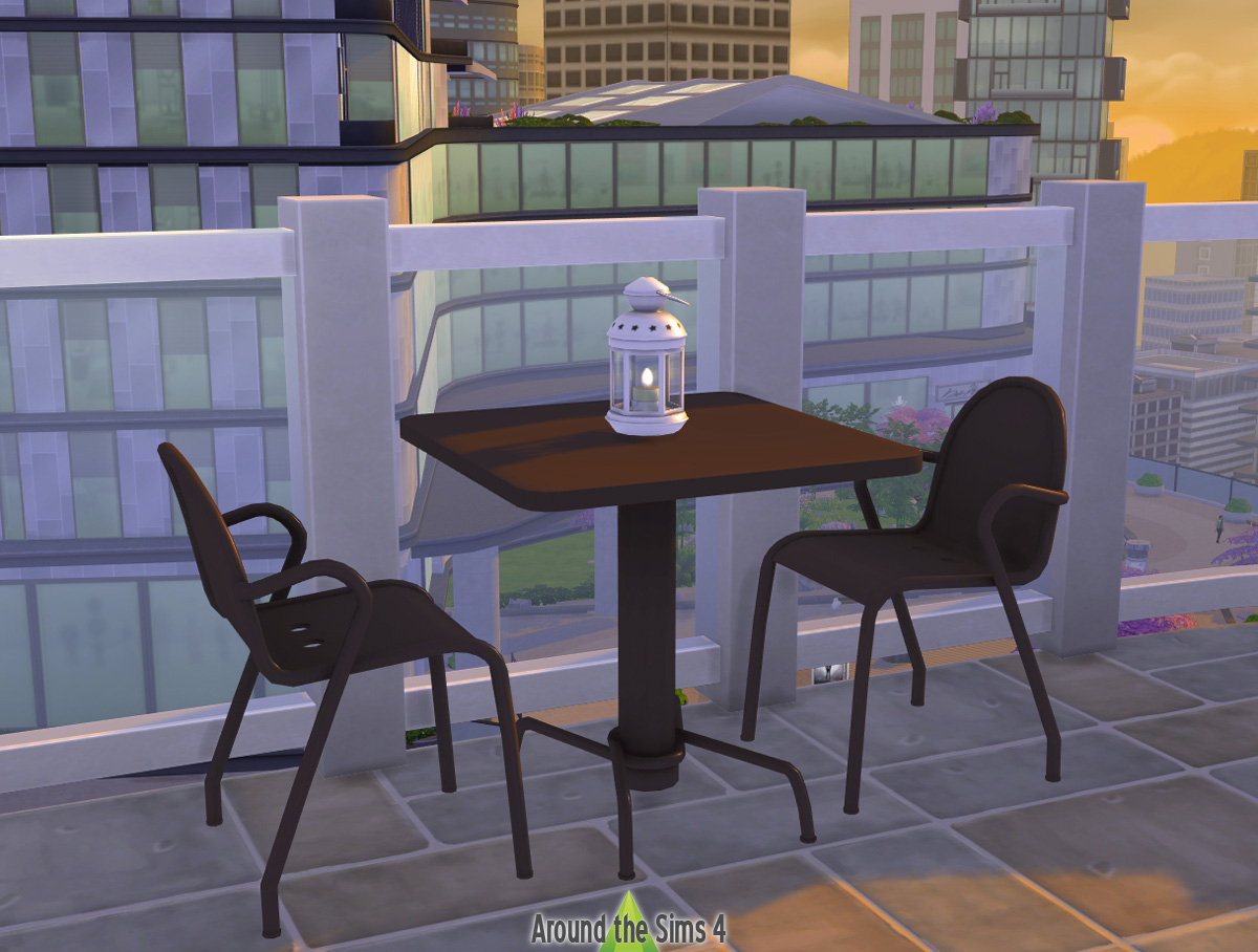 Around The Sims 4 | Custom Content Download | Ikea Tunholmen ... à Ikea Mobilier De Jardin