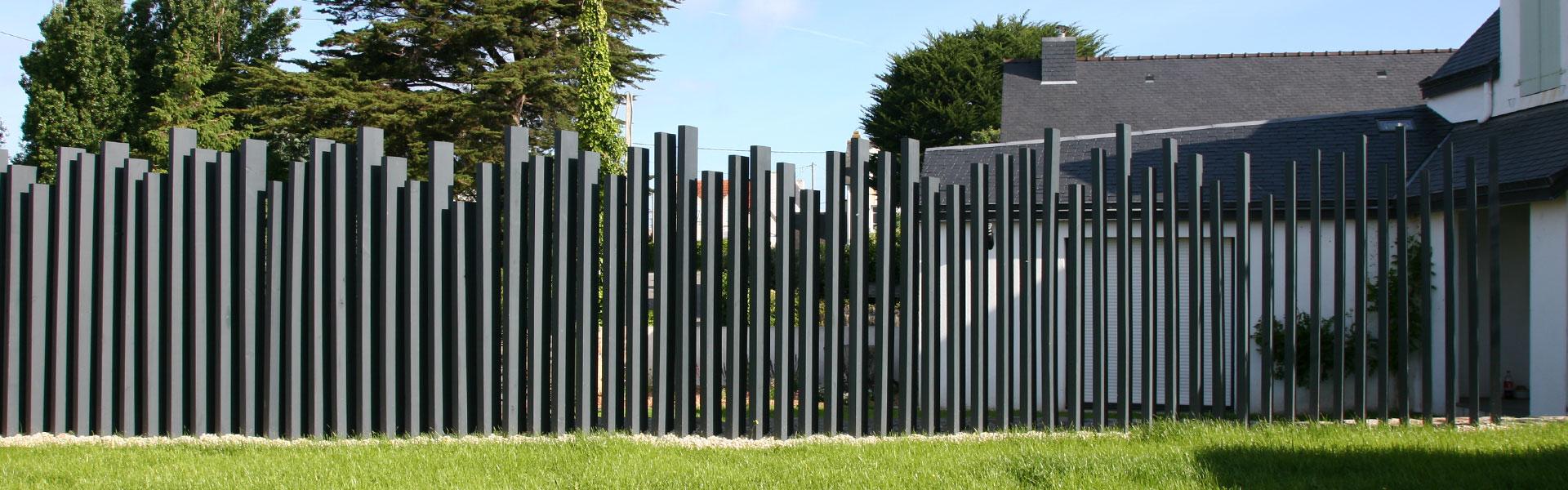 Au Jardin D'amélie, Paysagiste À Auray, Près De Carnac, Morbihan à Clotures De Jardin