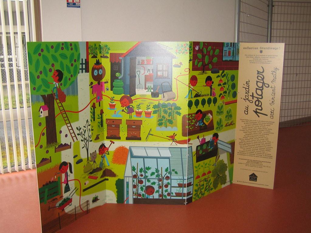 Au Jardin Potager De Vincent Mathy | Paravent Grandimage La ... tout Paravent De Jardin