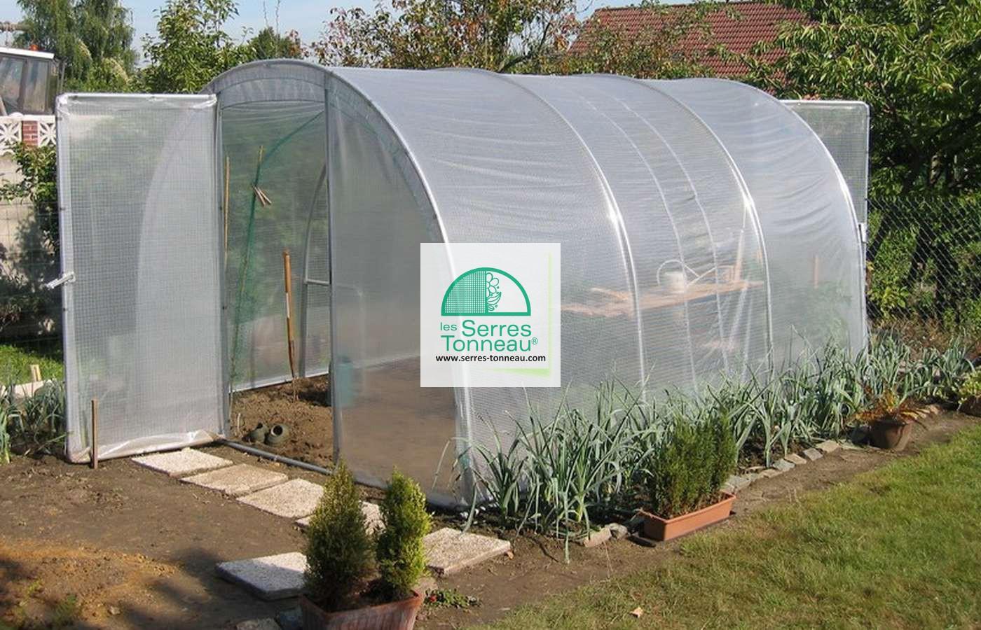 Bache De Toit Serre Jardiniere Long. 6M00 intérieur Bache Pour Serre De Jardin
