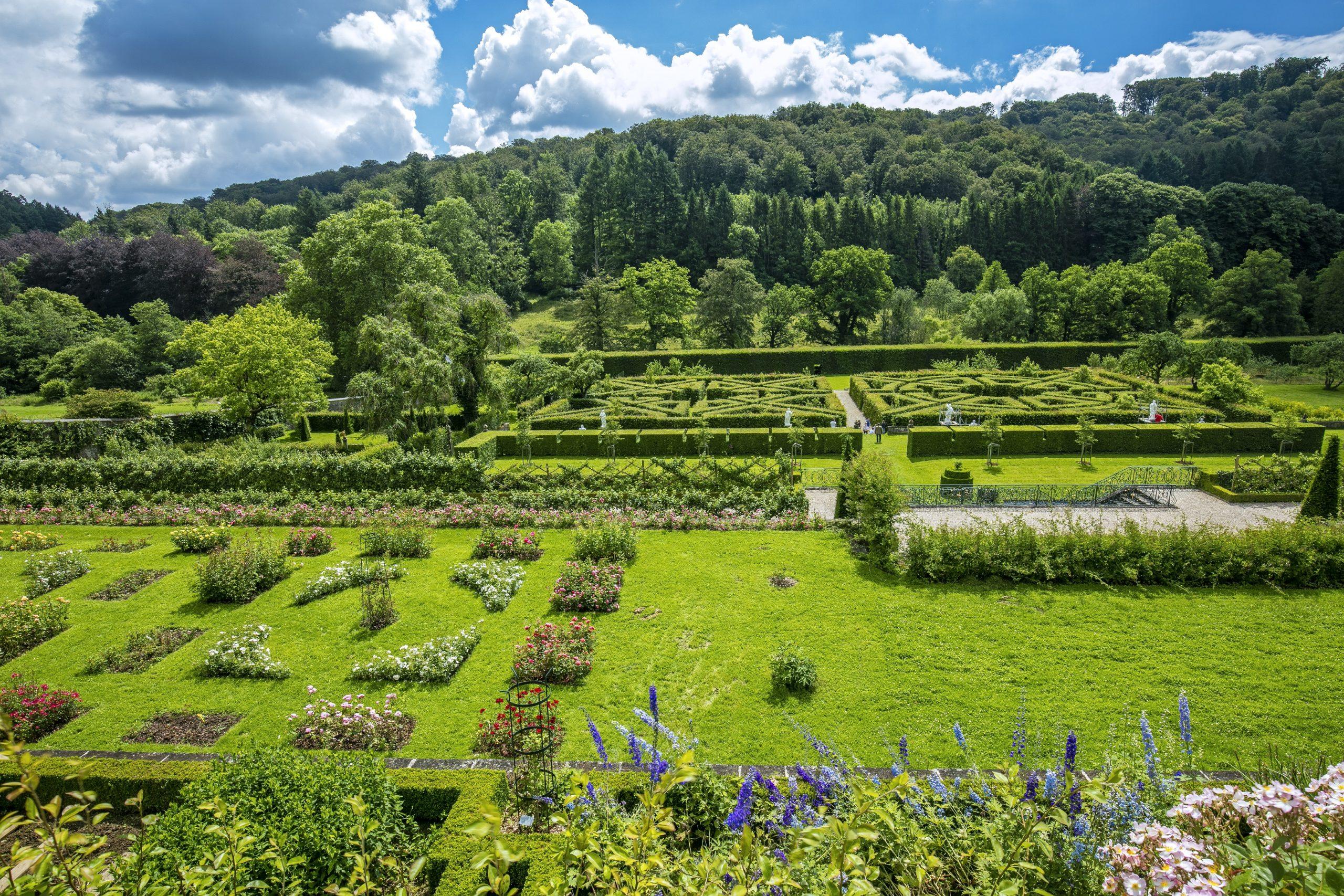"""Baptême De La Rose """"jardins D'ansembourg"""" / Heritage Days ... avec Delimitation Jardin"""