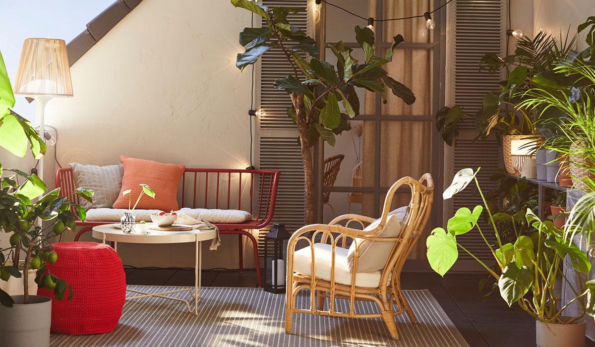 Bar De Terrasse Exterieur Génial Idées Pour L Aménagement Du ... pour Transat Jardin Ikea
