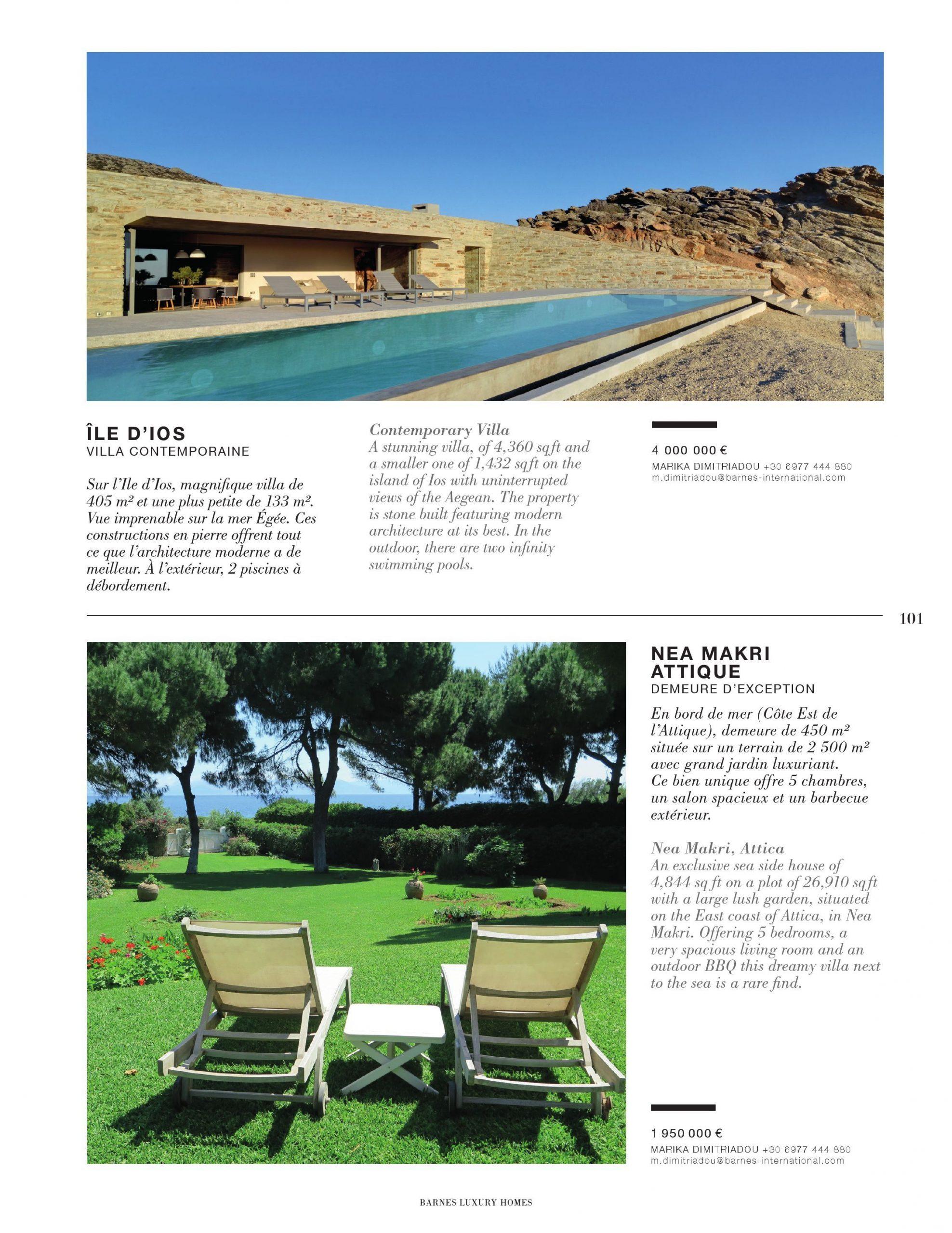 Barnes Luxury Homes #22 Pages 101 - 150 - Text Version ... tout Salon De Jardin En Pierre