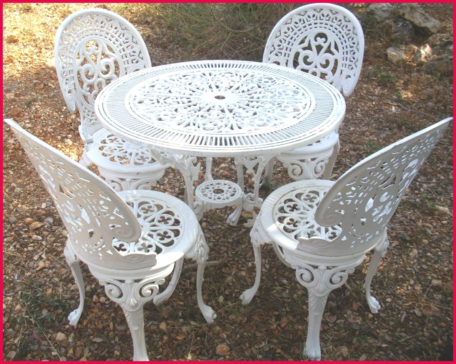 Best Table De Jardin Annne En Fer Forge Avec Marquise Forgé ... tout Le Bon Coin Salon De Jardin