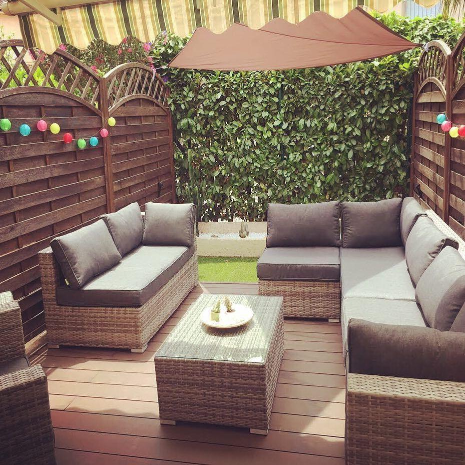 Big Garden, Or Compact And Bijou - Our Rattan Sofa Sets Can ... serapportantà Salon Jardin Alice Garden