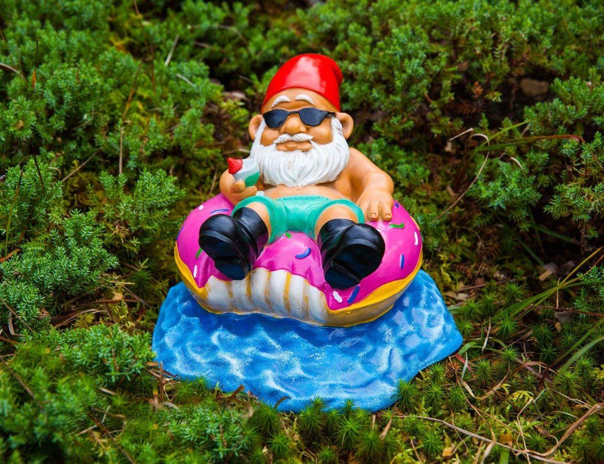 Bigmouth Inc Ninja Gnome De Jardin Jardin Décoration D ... serapportantà Nain De Jardin Design