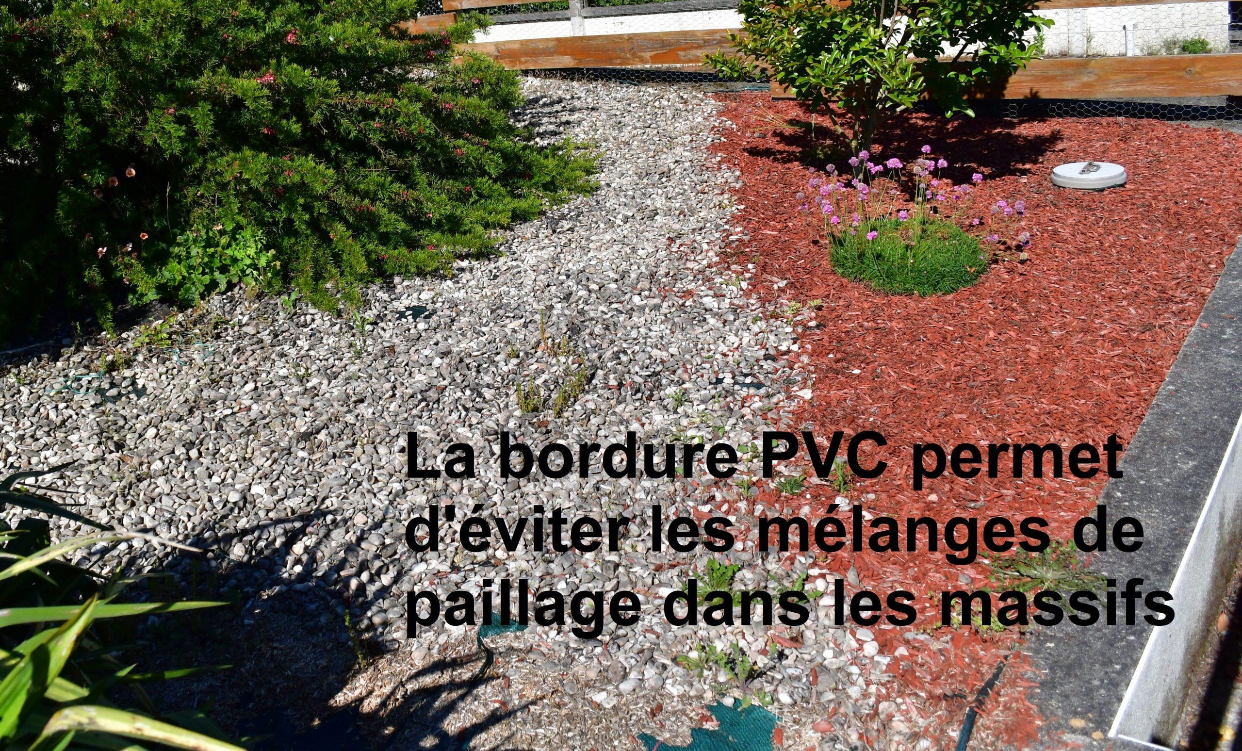 Bordure Volige Jardin Souple Délimitation Séparation ... avec Delimitation Jardin