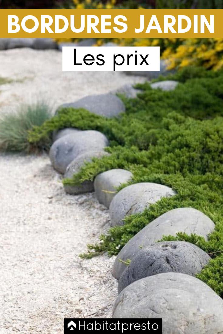 Bordures De Jardin : Créer Des Zones Bien Délimitées ... destiné Bordure De Jardin Beton