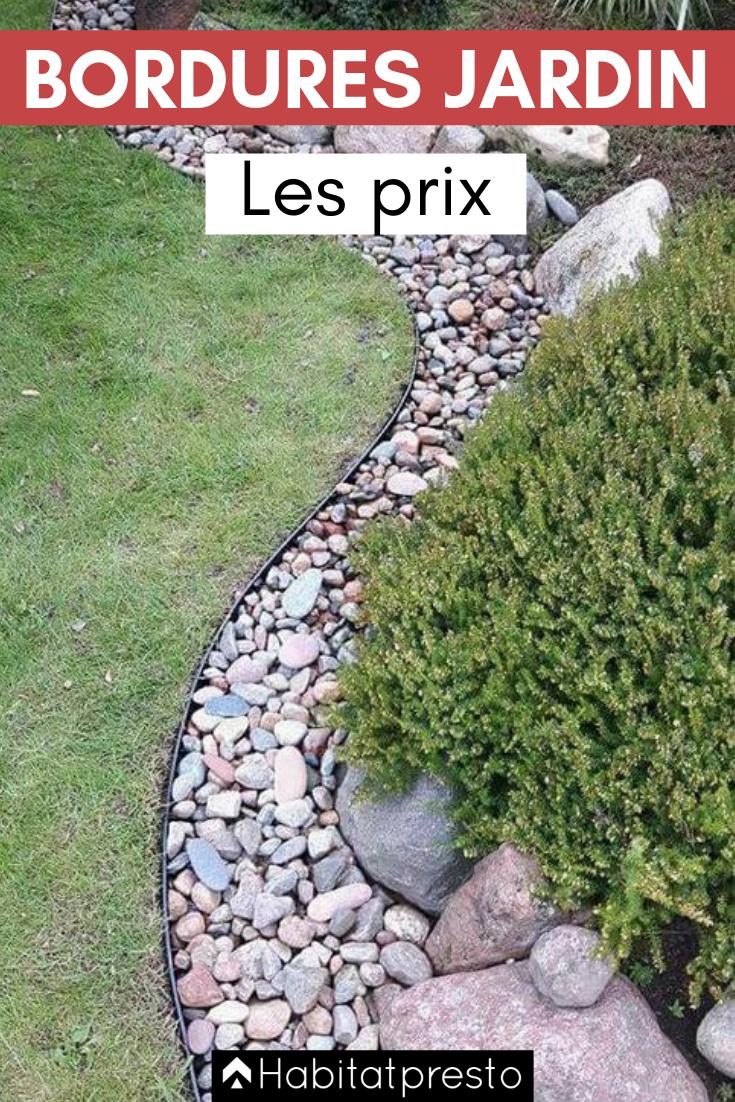 Bordures De Jardin : Créer Des Zones Bien Délimitées ... intérieur Bordure De Jardin Beton