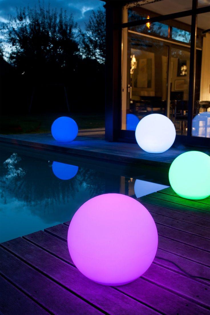 Boule Lumineuse Multicolore | Éclairage Extérieur serapportantà Boule Lumineuse Jardin