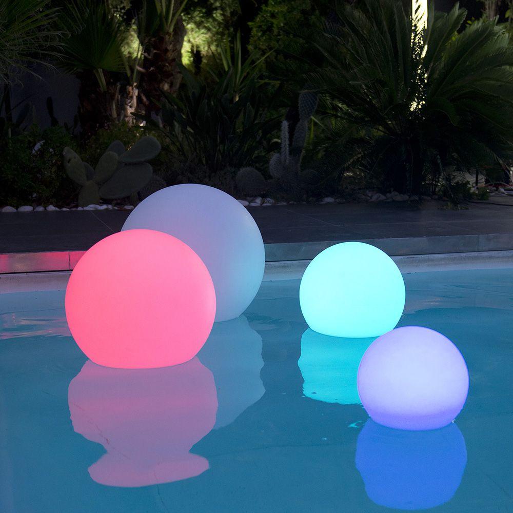Boule Lumineuse Multicolore Lumisky Bobby C40 intérieur Boule Lumineuse Jardin
