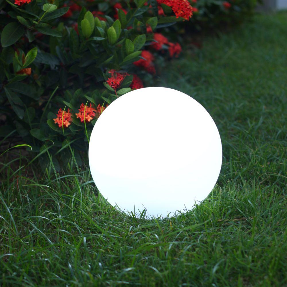 Boule Lumineuse Solaire Lumisky Solsty C30 Multicolore serapportantà Boule Décorative Jardin