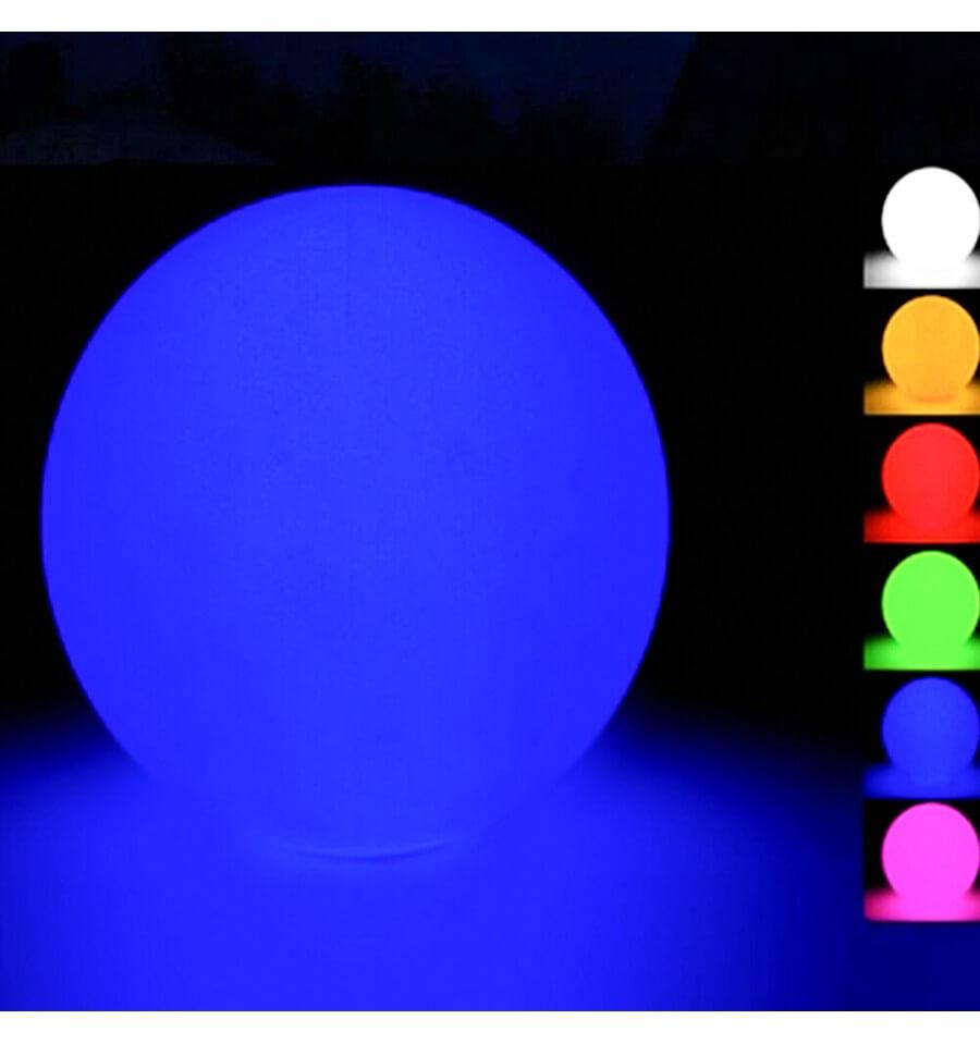Boule Lumineuse Waterproof Multicolore À Énergie Solaire - Sun concernant Boule Lumineuse Jardin
