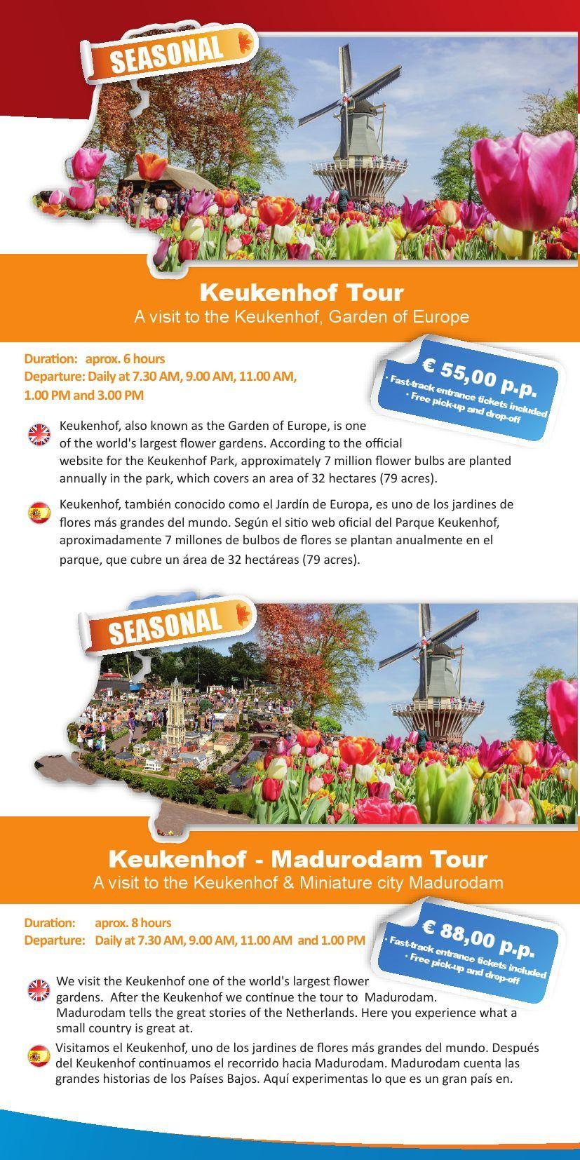 Brochure_Shoptour_Keukenhof Pages 1 - 2 - Text Version ... serapportantà Jardin De Keukenhof