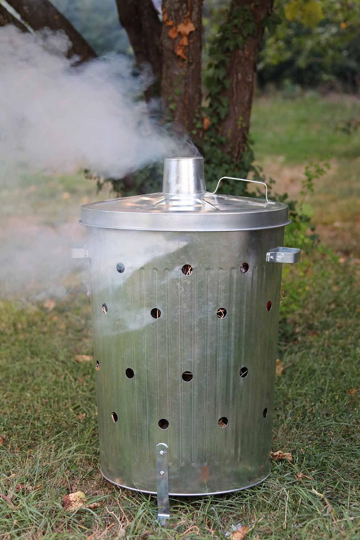 Brûlez Vos Déchets Verts Dans Votre #jardin En Toute ... concernant Incinerateur Jardin