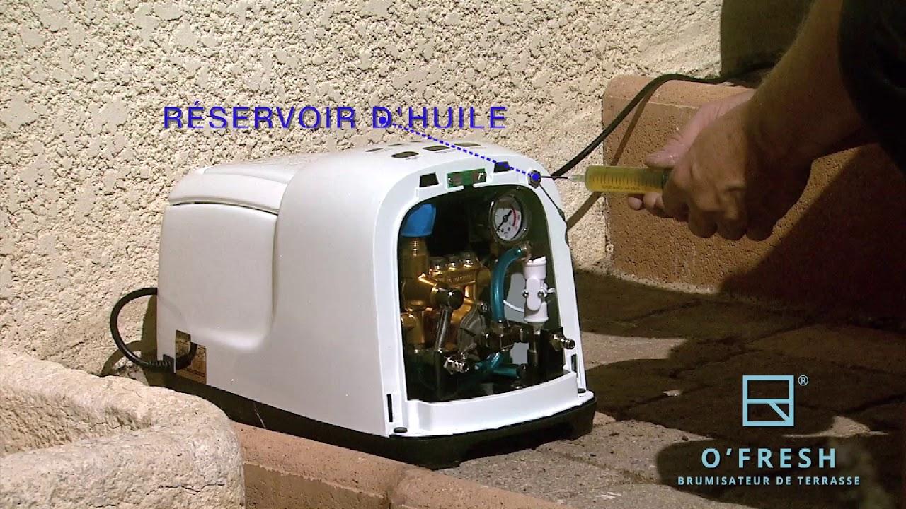 Brumisateur Haute Pression O'fresh intérieur Brumisateur Jardin