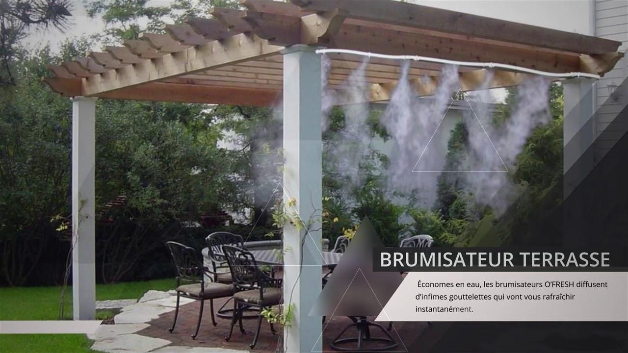 Brumisateur Terrasse / Jardin : Collection O Fresh destiné Brumisateur Jardin