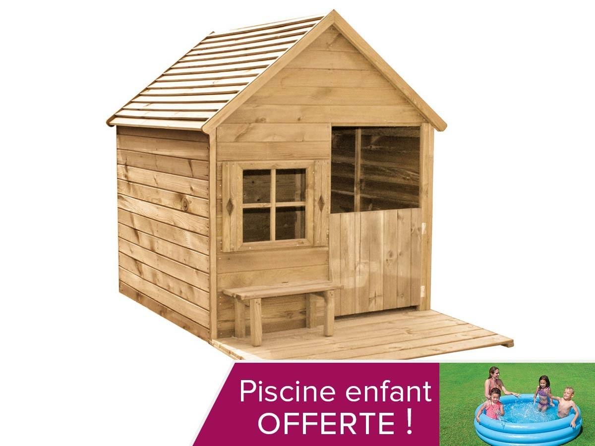 Cabane De Jardin En Bois Pas Cher Schème - Idees Conception ... pour Cabane De Jardin Enfant Pas Cher
