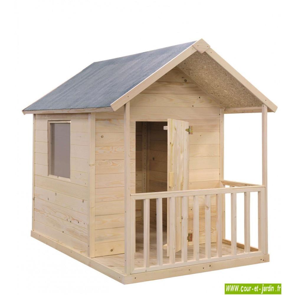Cabane En Bois Pour Enfant, Cabane De Jardin Pour Enfants ... pour Maison De Jardin Pour Enfant