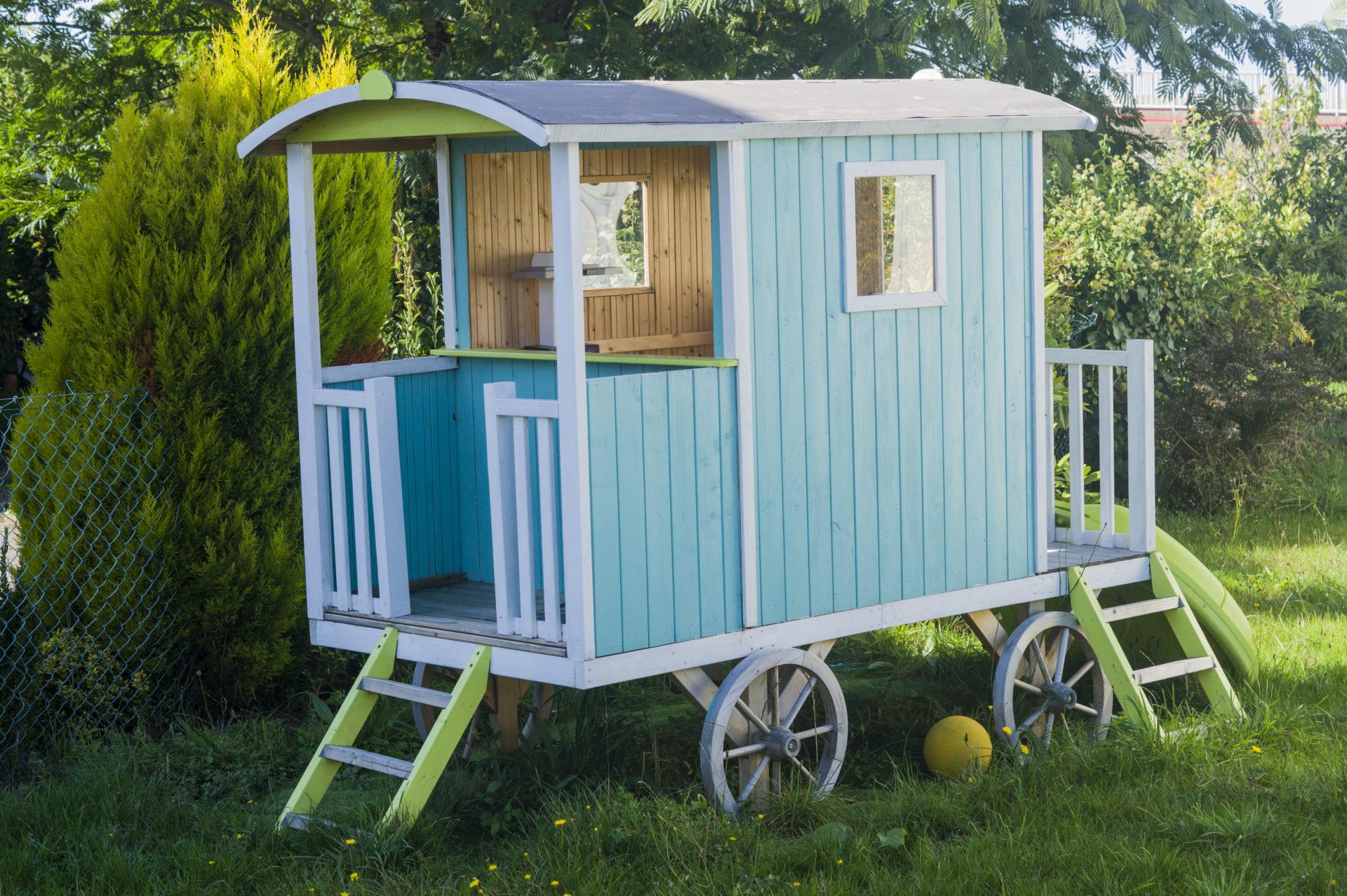 Cabane En Bois Pour Enfant, Cabane Jardin Enfant - Acheter ... dedans Cabane De Jardin Pour Enfants