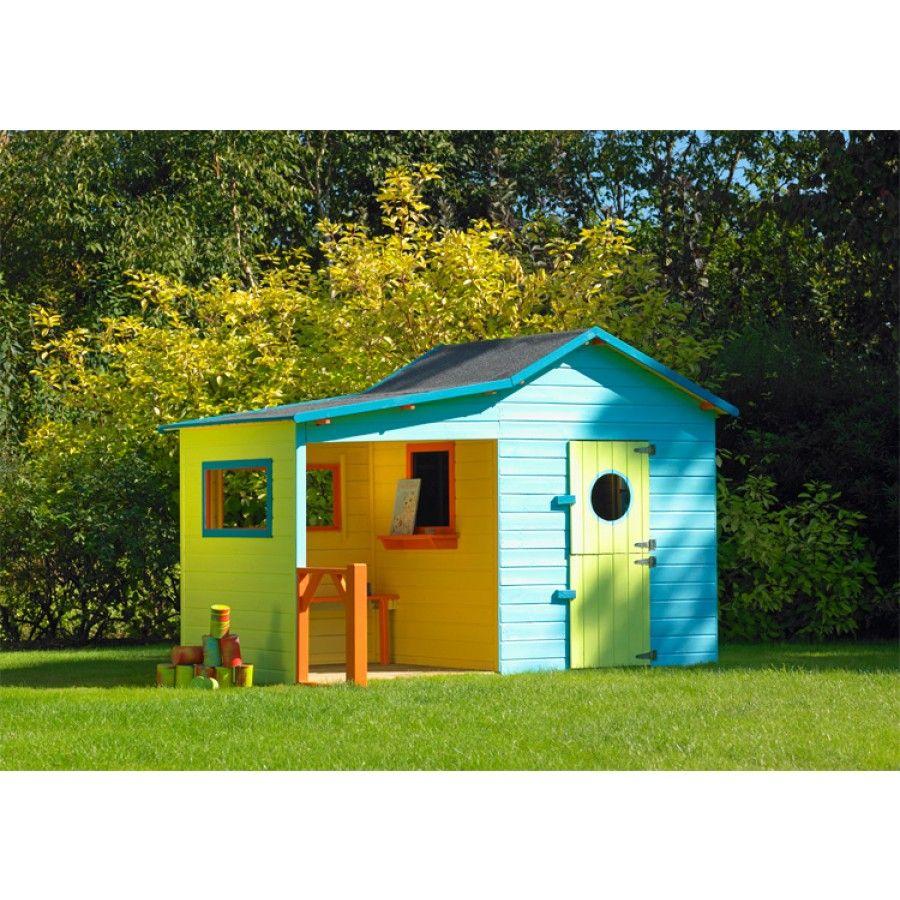 Cabane En Bois Pour Enfants Hacienda Cerland | Maisonnette ... concernant Cabane De Jardin Enfant Pas Cher