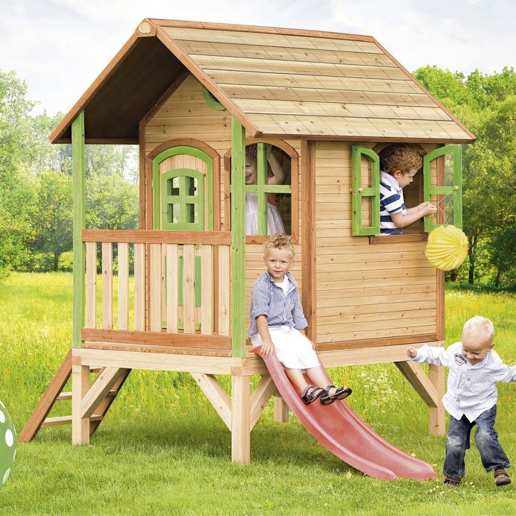 Cabane En Bois Pour Enfants ? : Le Guide (À Lire) 2020 intérieur Cabane De Jardin Enfant Bois