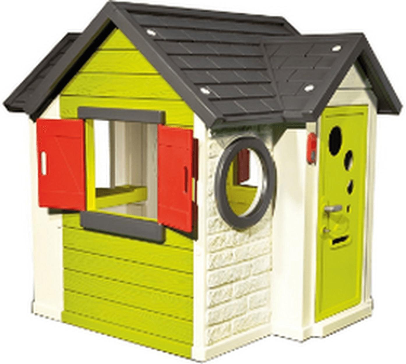 Cabane En Plastique : Smoby My House avec Maison De Jardin Smoby
