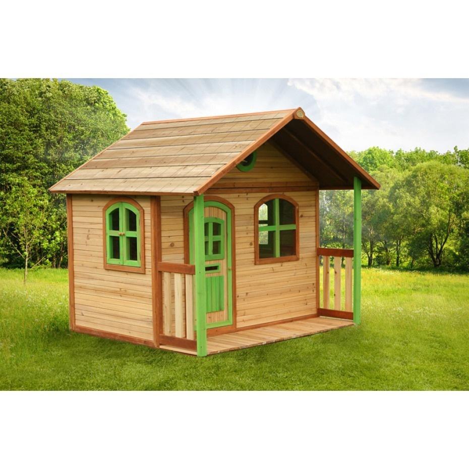 Cabane Enfant En Bois Milan Axi - Eden Deco destiné Maison De Jardin Pour Enfants
