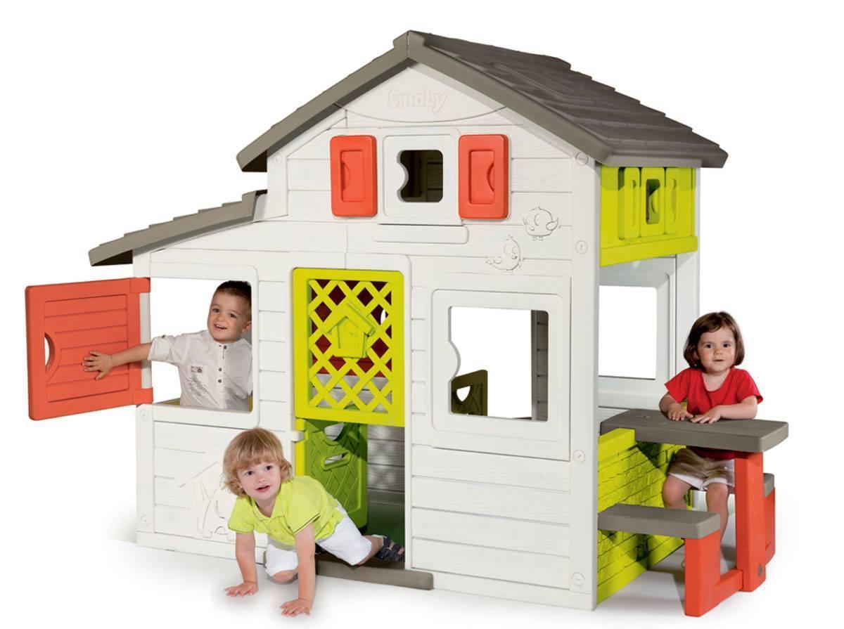 Cabane Enfant Friends House serapportantà Maison De Jardin Smoby