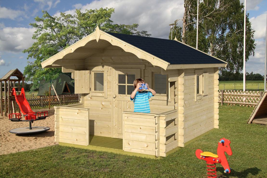 Cabane Enfant Kids 28Mm - 4,6M² Intérieur pour Cabane De Jardin Pour Enfants