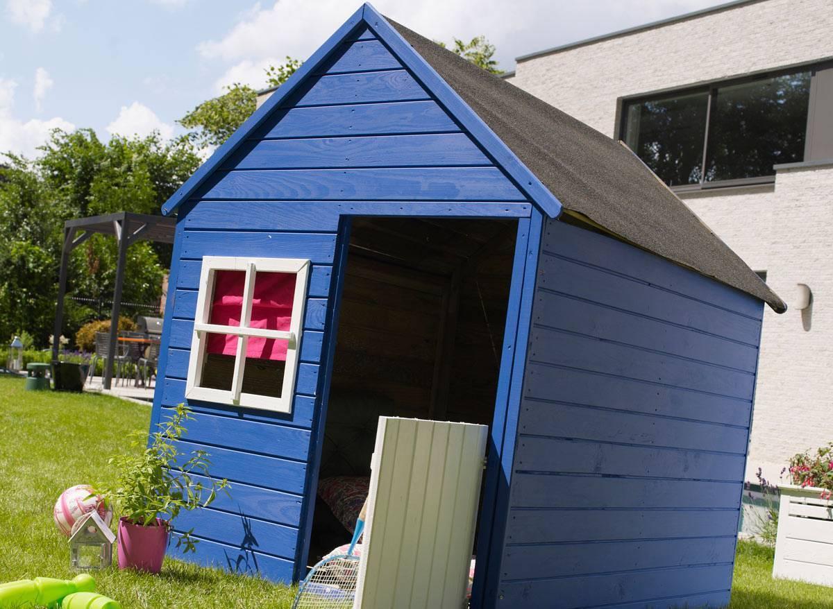 Cabane Enfant Modulable Marina En Bois destiné Cabane De Jardin Enfant Bois
