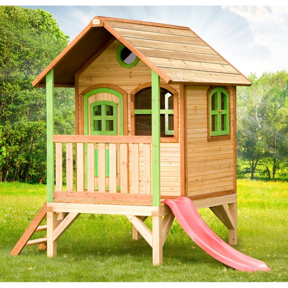 Cabane Jardin Enfant Bois concernant Cabane De Jardin Pour Enfants