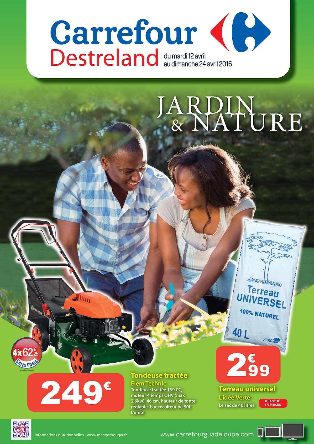 Calaméo - Carrefour Catalogue Jardin & Nature concernant Salon Jardin Resine Carrefour