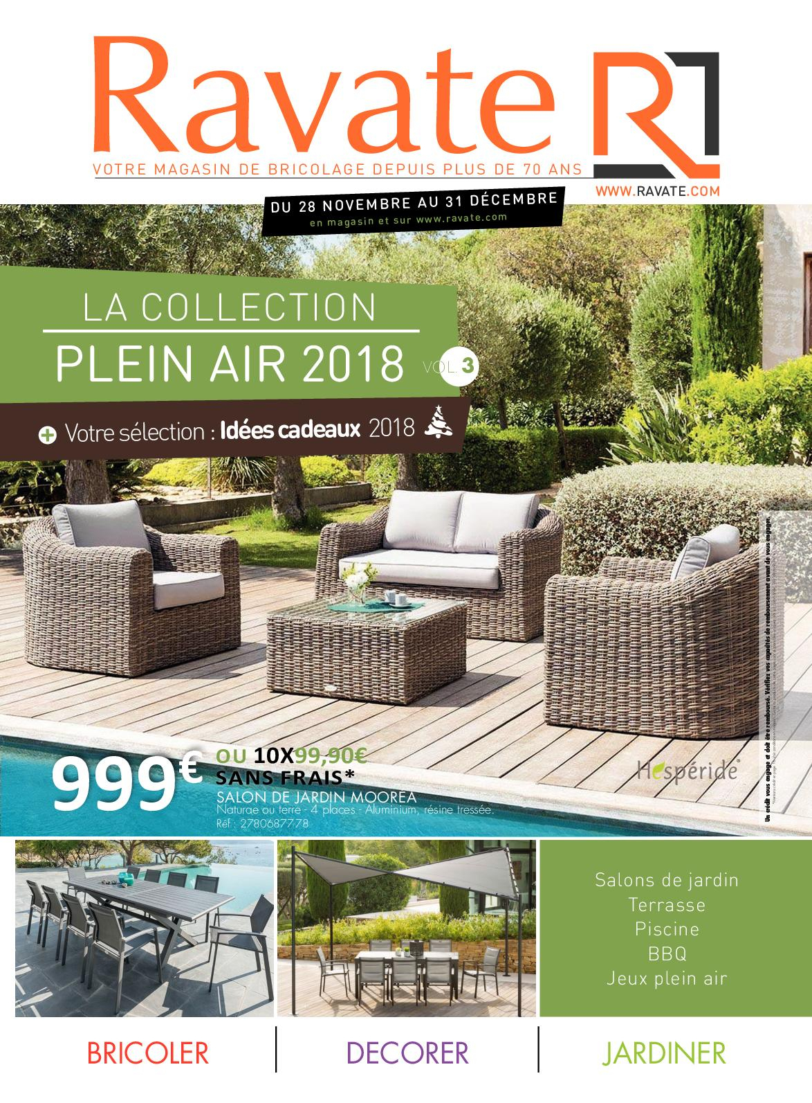 Calaméo - Collection Plein Air 3 Ravate Brico intérieur Salon De Jardin Moorea