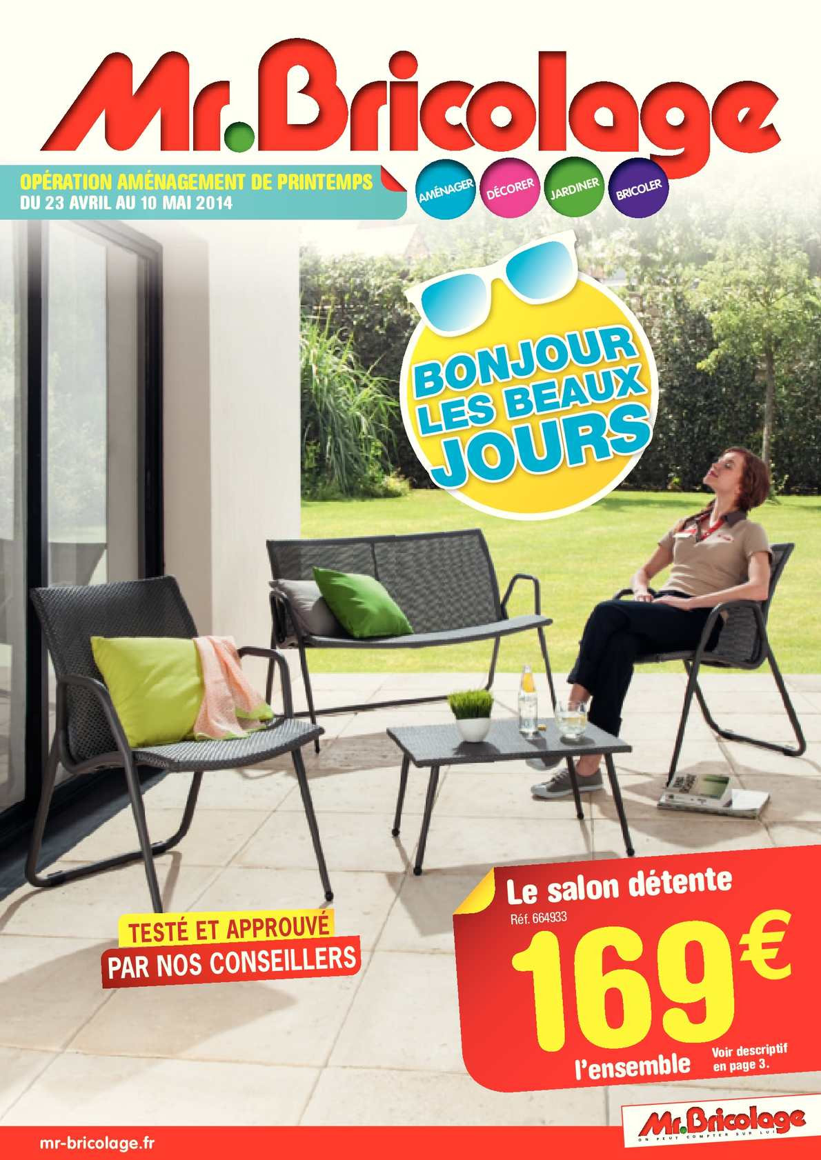 Calaméo - Mr.bricolage - Catalogue Aménagement Extérieur ... tout Salon De Jardin Mr Bricolage