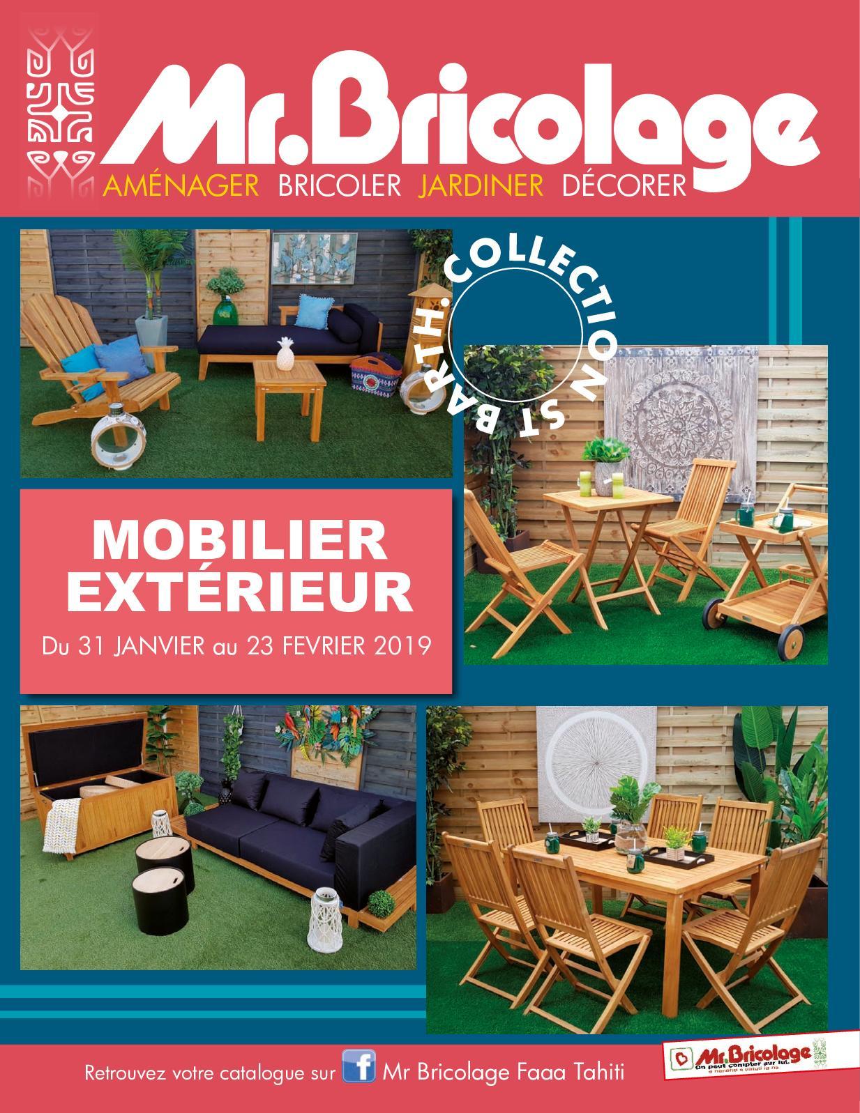 Calaméo - Mr Bricolage Mobilier à Salon De Jardin Mr Bricolage