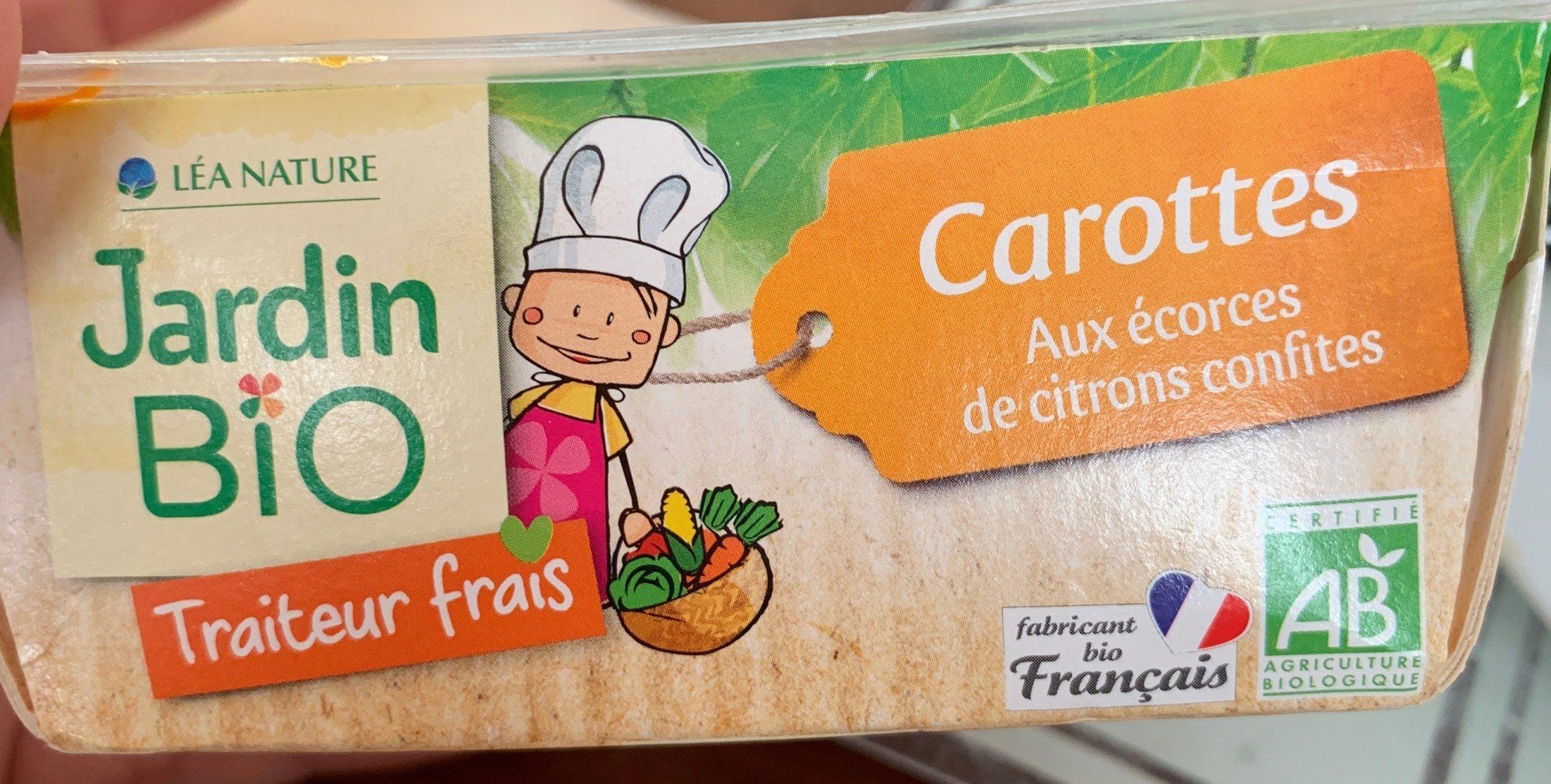 Carottes Aux Ecorces De Citrons Confites - Jardin Bio ... intérieur Ecorces Jardin