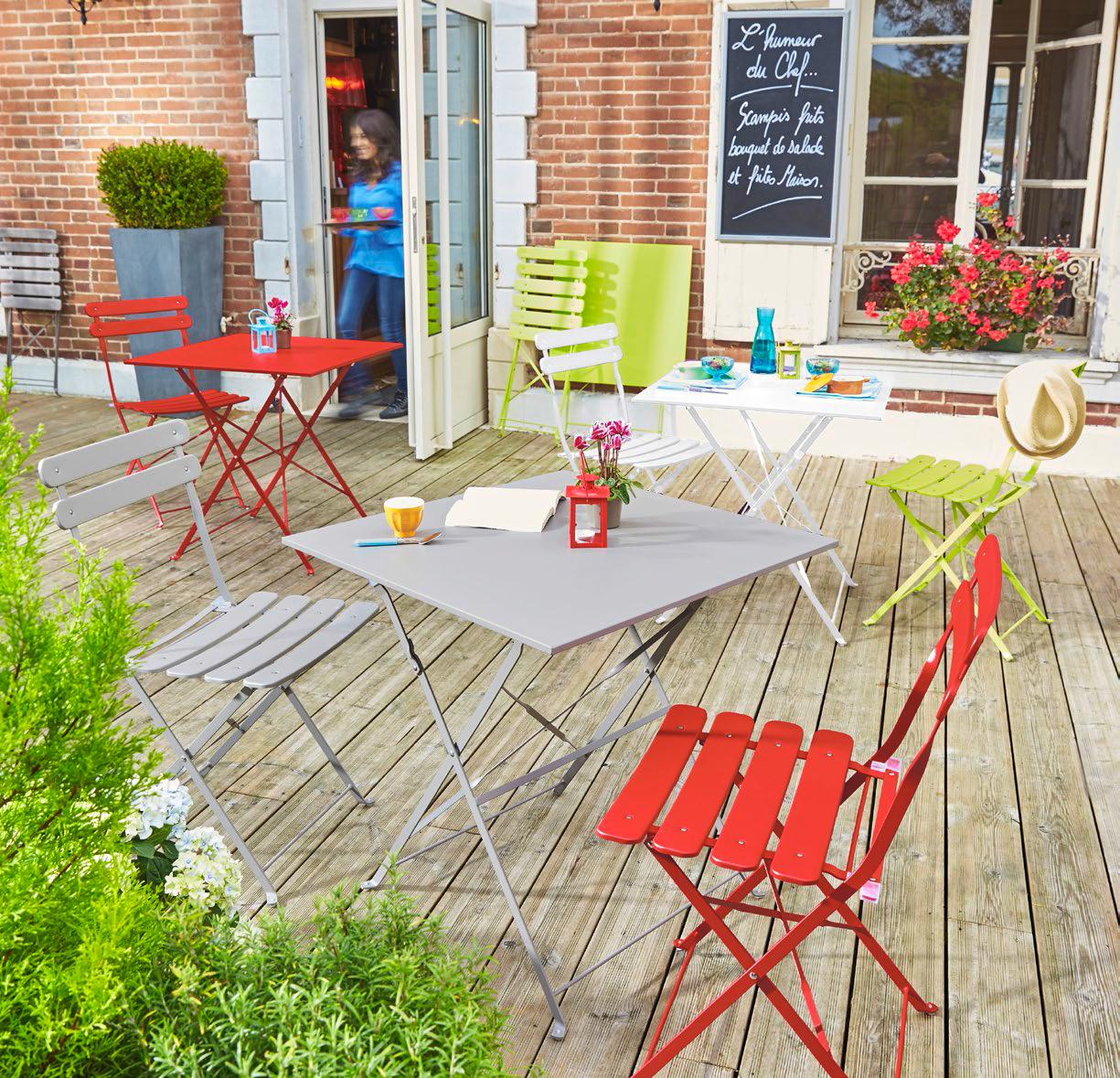 Carrefour - Chaise Bistrot Pliante - Vert - Pas Cher Achat ... concernant Tonnelle De Jardin Carrefour