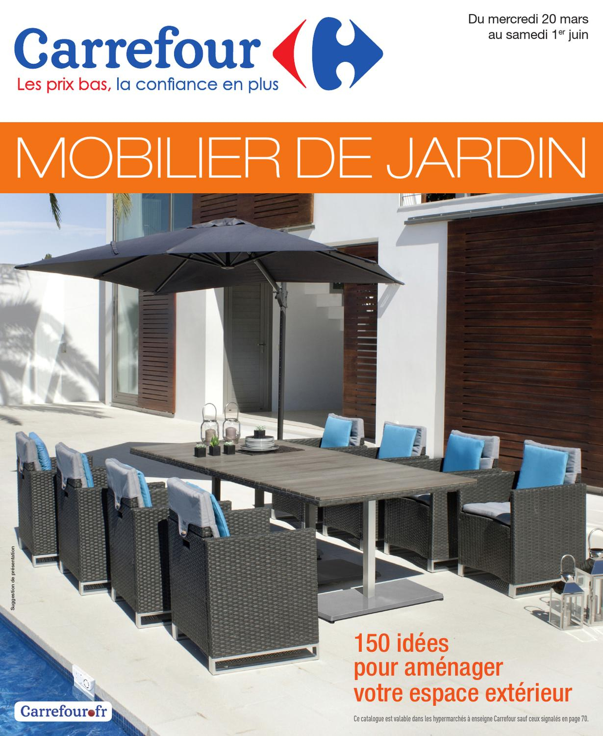 Carrefour_20.3-1.6-2013 By Proomo France - Issuu dedans Tonnelle De Jardin Carrefour