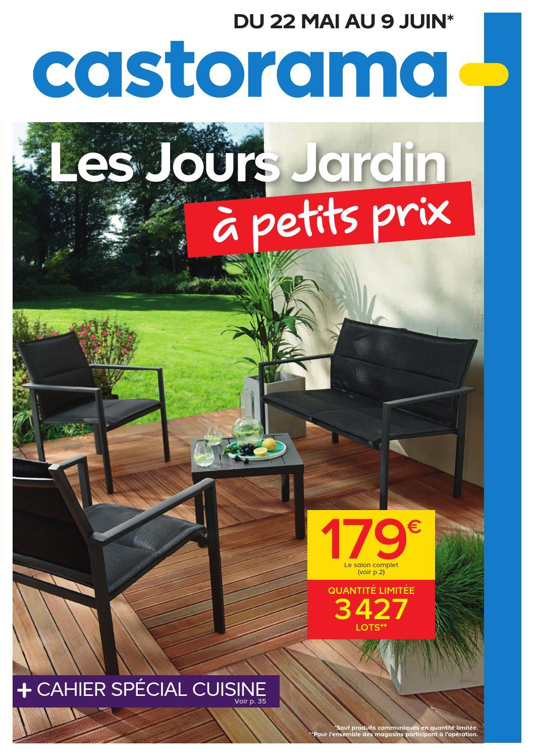 Castorama Catalogue 22Mai 9Juin2015 By Promocatalogues ... concernant Coffre De Jardin Castorama