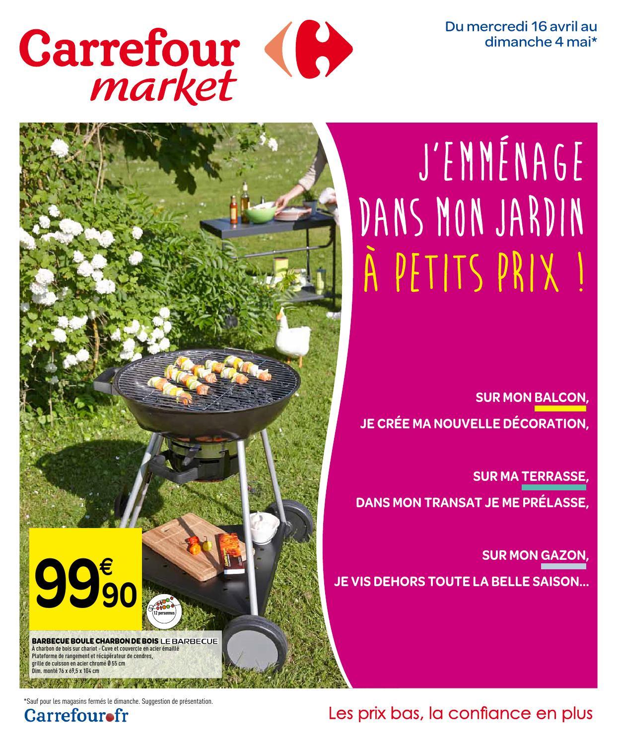 Catalogue Carrefour Market - 16.04-4.05.2014 By Joe Monroe ... intérieur Transat Jardin Carrefour