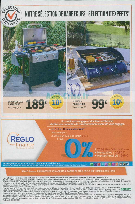 Catalogue Leclerc Du 02 Au 13 Avril 2019 (Jardin ... concernant Table De Jardin Magasin Leclerc
