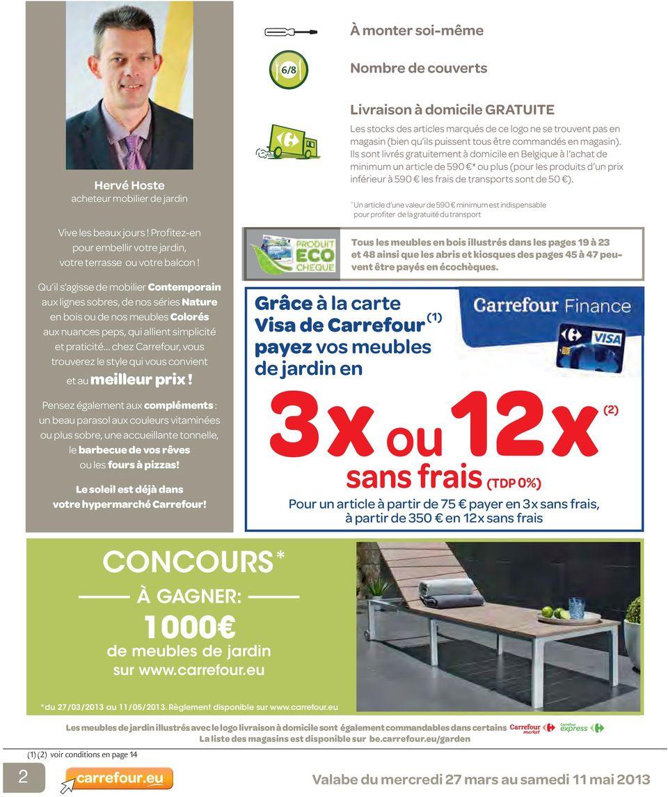 Catalogue Mobilier De Jardin - Pdf Téléchargement Gratuit pour Tonnelle De Jardin Carrefour