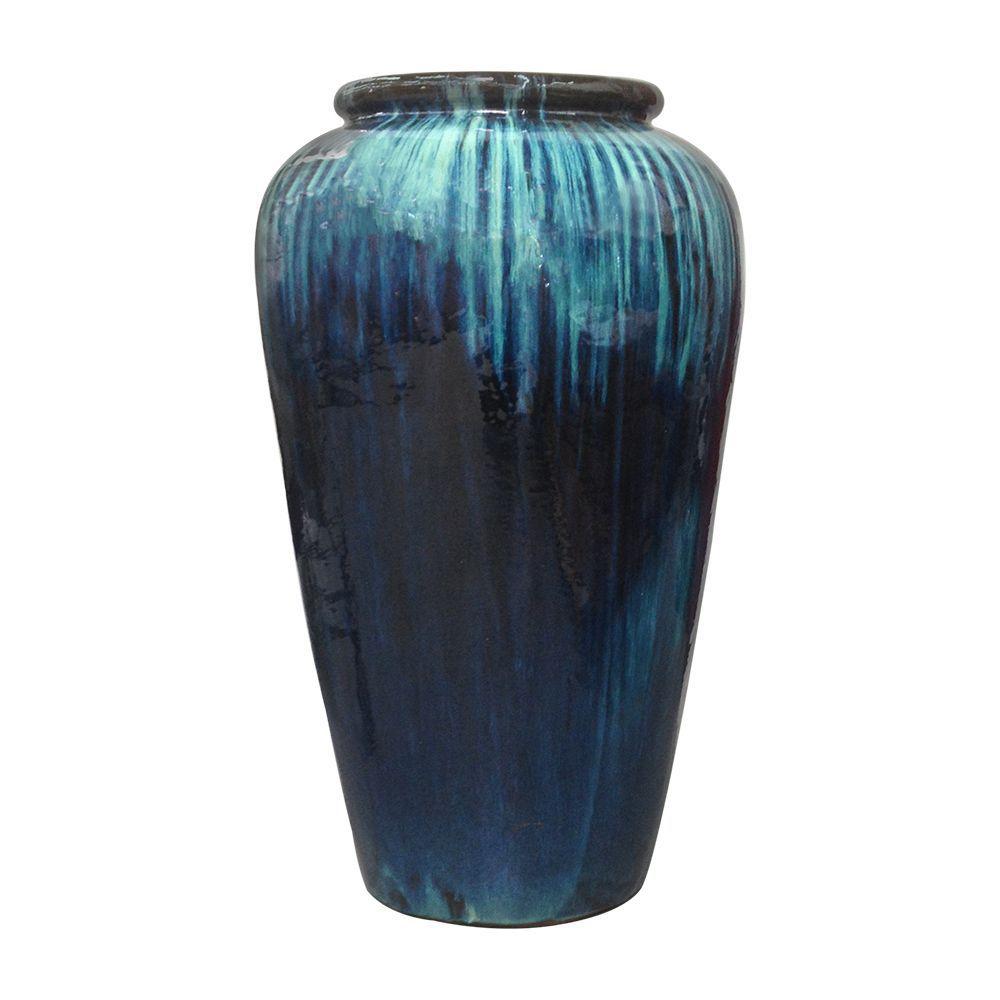 Ceramic Jarre - Yixing Jardin - La Compagnie Française De L ... serapportantà Jarre De Jardin