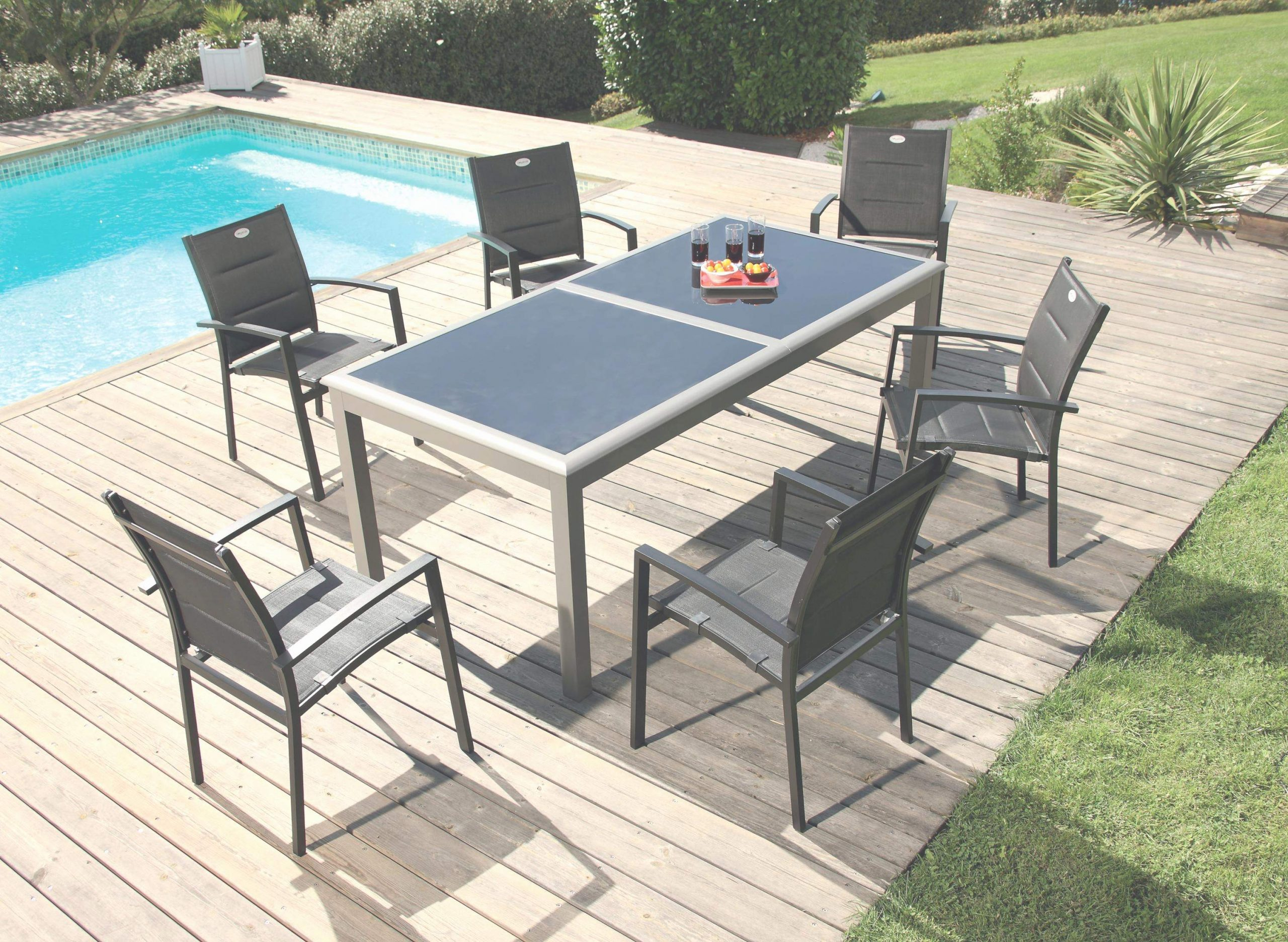Chaise Centrakor De Jardin Home Brillant Table Pliante ... avec Salon De Jardin Centrakor