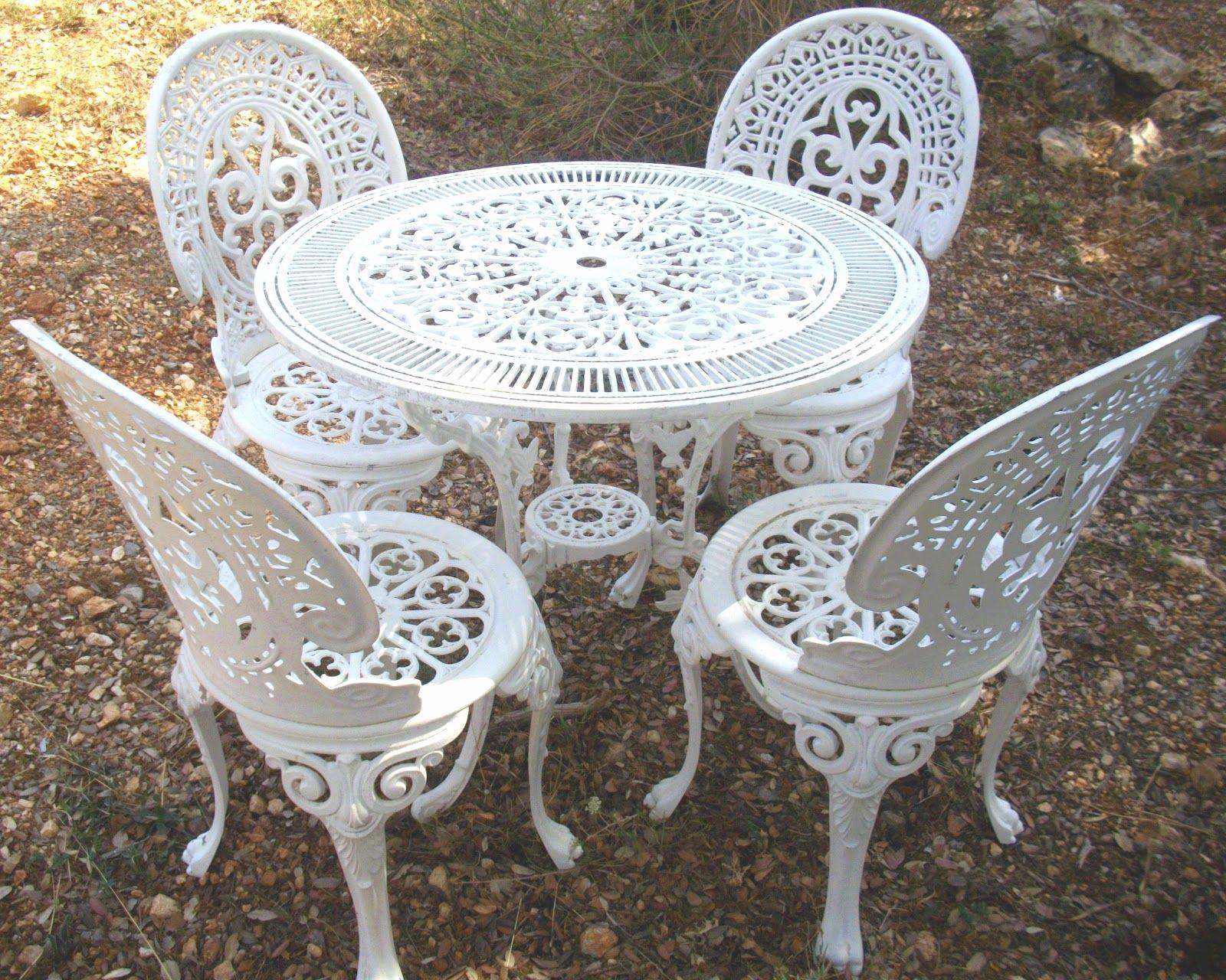 Chaise De Jardin Aluminium Archives - Luckytroll concernant Salon De Jardin En Fer Forgé