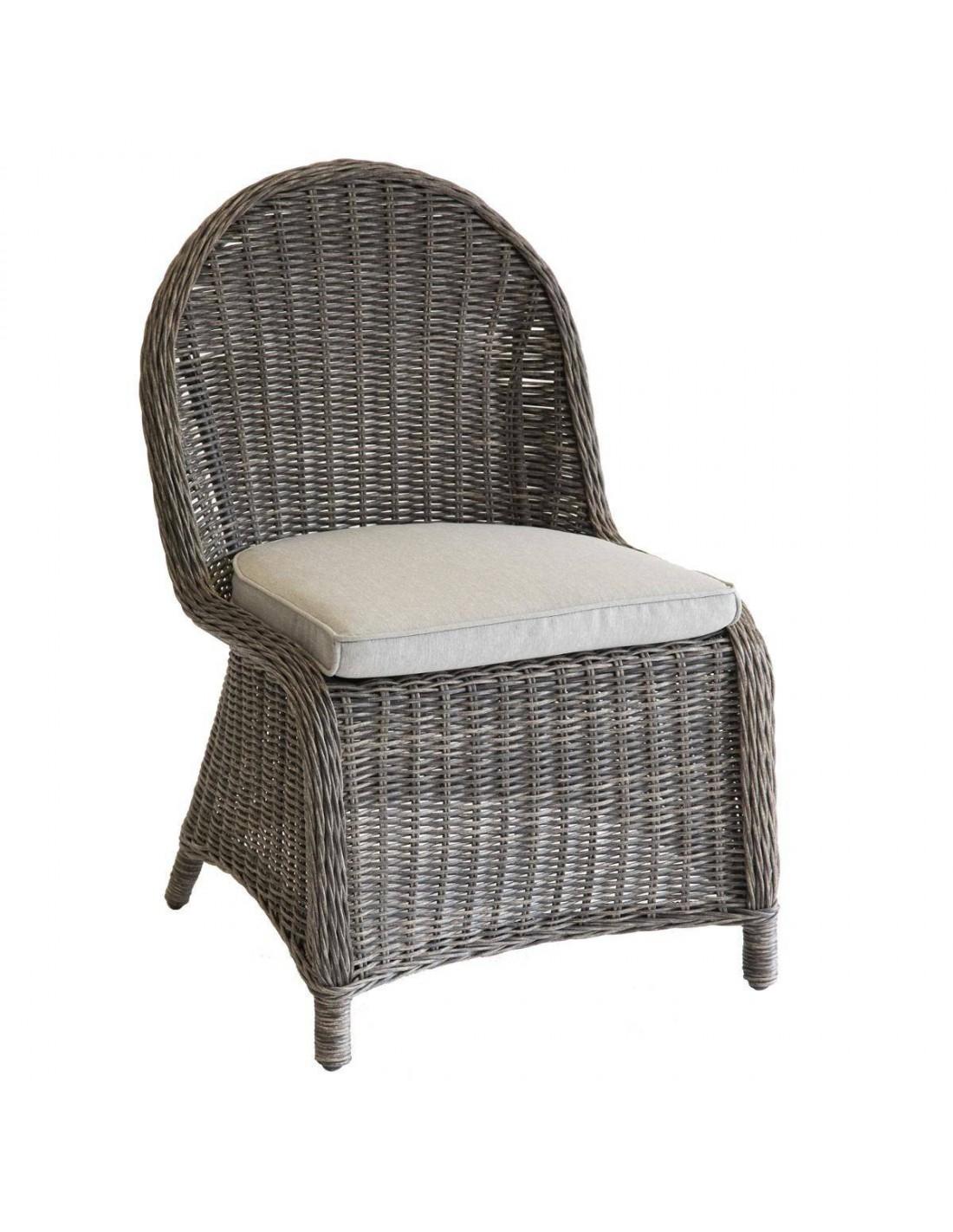 Chaise De Jardin Bétong - Aluminium En Résine Tressée - Hespéride à Chaise De Jardin Hesperide