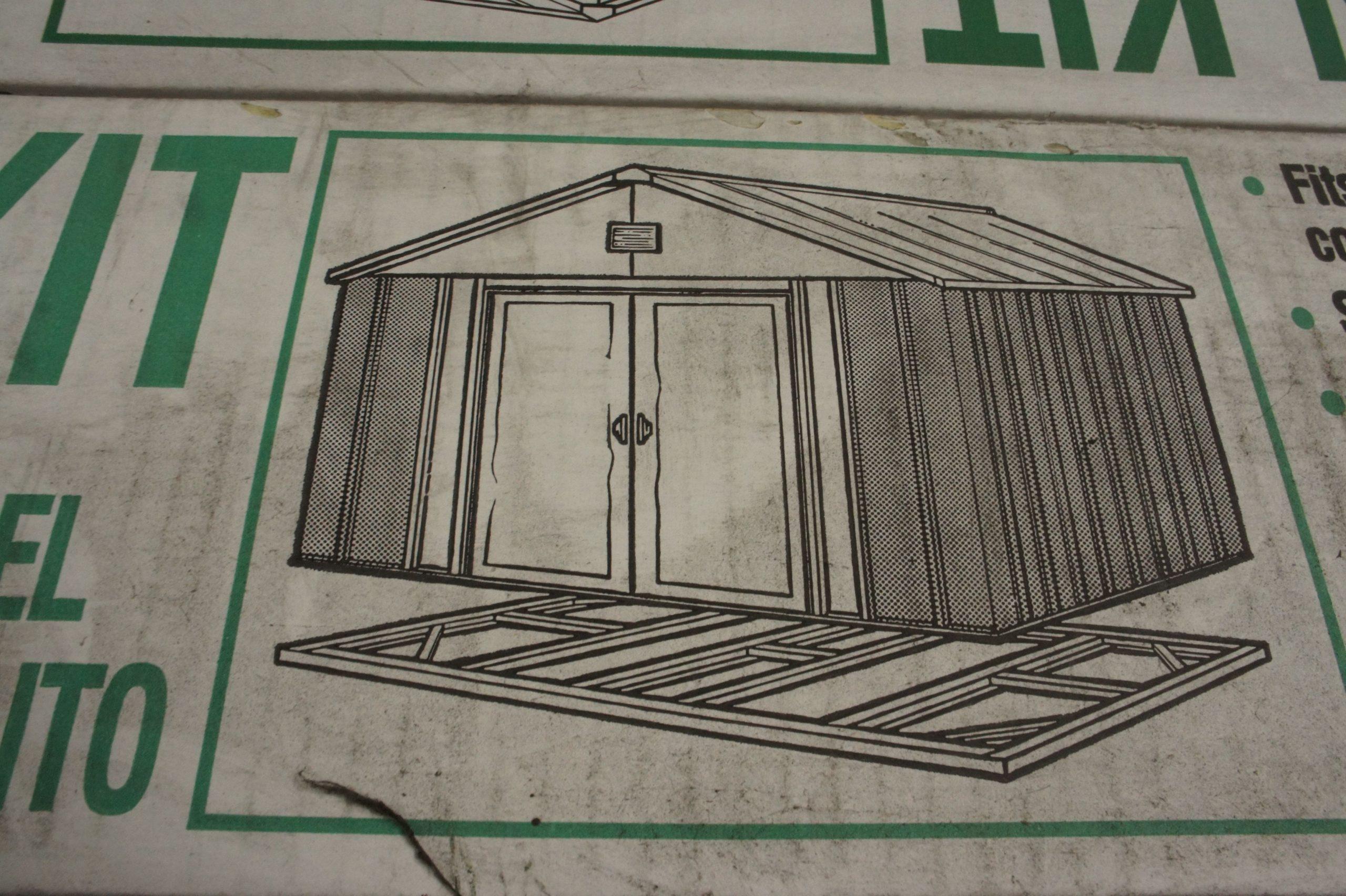 Chalet & Jardin Boutique : Kit De Fondation Pour Abri En ... destiné Fondation Abri De Jardin